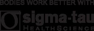 logo Bodies work better with sigma tau HealthScience